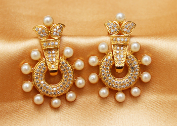 Beautiful Designer Cz Earrings