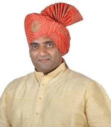 Buy Khadi Print Kolhapuri Pheta Turban men-festive-wear online