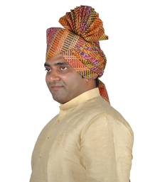 Panchrangi Lehariya Kolhapuri Pheta Turban