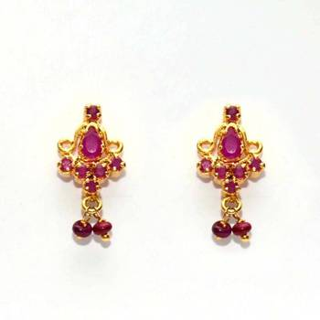 Anvi's Ruby earrings