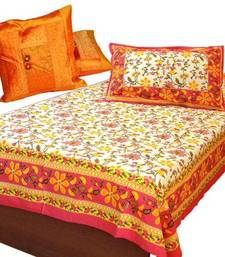 Buy Buy Siandgle Bedsheet Pillow Get Cushioand Cover Free bed-sheet online