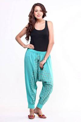 Ethnic Silk Harem Pants
