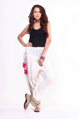 Ethnic Embroidered Dhoti Pants