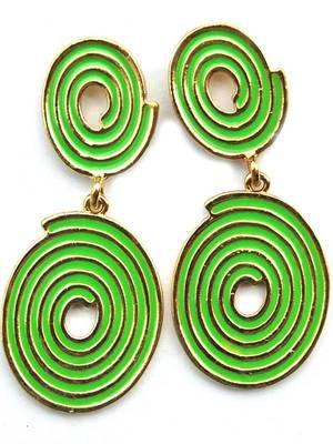 Lovely Green Maayra Earrings