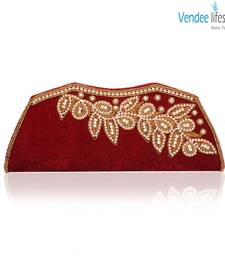 Buy Vendee Lifestyle Wedding Engagement Clutch (7373) clutch online
