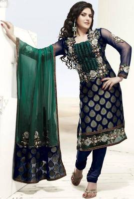 Designer party wear suits                      Vis-415