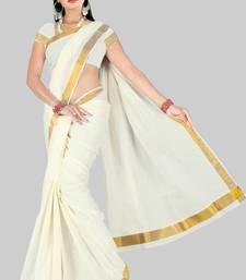 Buy KERALA COTTON SAREE NO 223 kerala-saree online