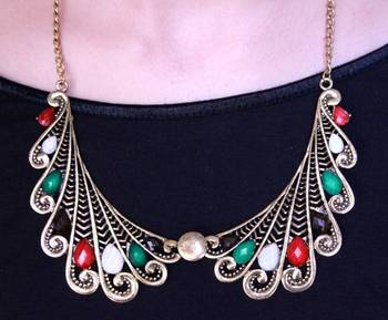 Colorful Collar Neckpiece