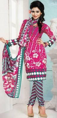 Dress Material Crepe Designer Prints Unstitched Salwar Kameez Suit D.No AP718