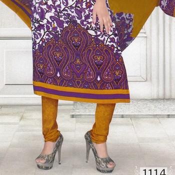 Dress Material Crepe Designer Prints Unstitched Salwar Kameez Suit D.No SJ1114