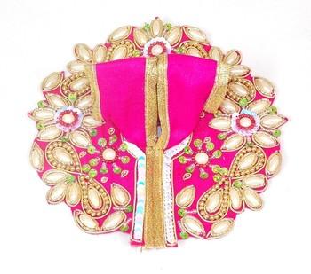 "4.5"" Holly Star Flower Pink Poshak"