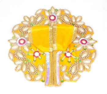 9'' Holy Star Flower Yellow Poshak