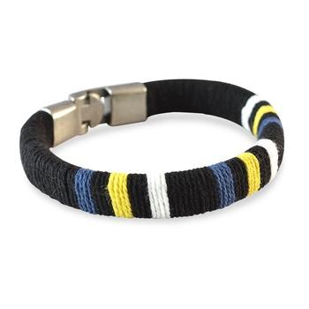Black Thread Bracelet for Men
