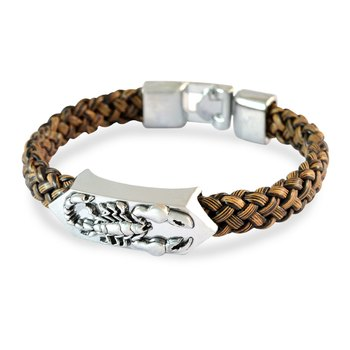 Scorpion Design Men Bracelet