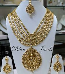 Buy Kundan Bridal Rani Haar necklace-set online