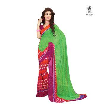 Party Wear Sari Kaju4717