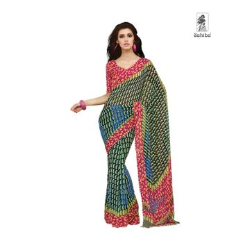 Party Wear Sari Kaju4730