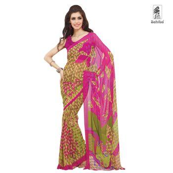 Party Wear Sari Kaju4736