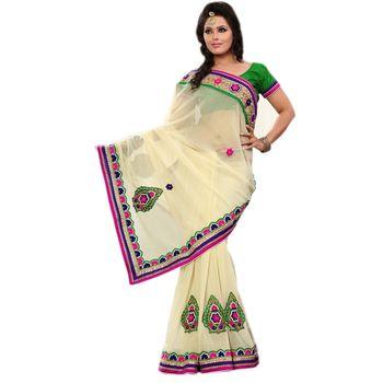 Elegant Designer Sari 8167D