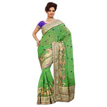 Elegant Designer Sari 9046A