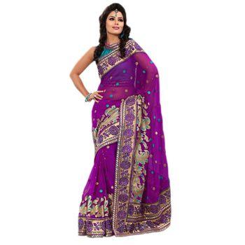 Elegant Designer Sari 9046C