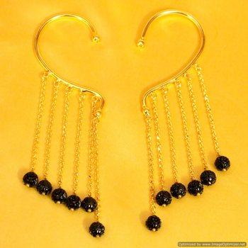 Gold Look Designaer Ear Cuffs