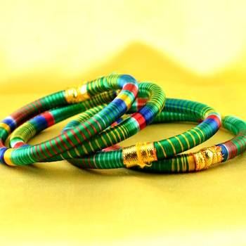 bangle kara hand made rajasthani strechable with free size