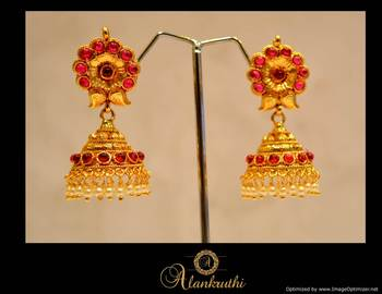 Temple Jewellery - Jhumka