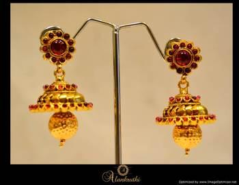 Temple Jewellery - Jhumka 1