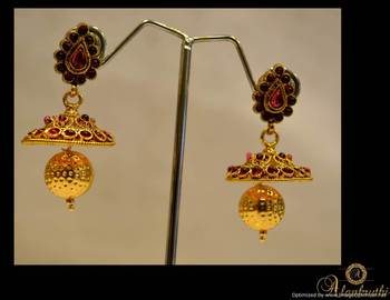 Temple Jewellery - Jhumka 4