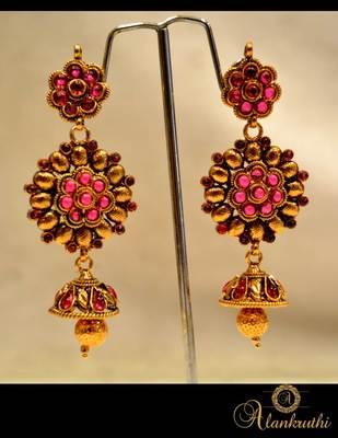 Temple Jewellery - Jhumka 8