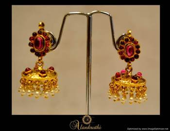 Temple Jewellery - Jhumka 9