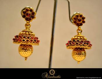 Temple Jewellery - Jhumka 11