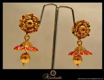 Temple Jewellery - Jhumka 13