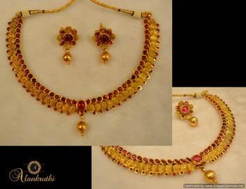 Temple Jewellery Necklace Set 6