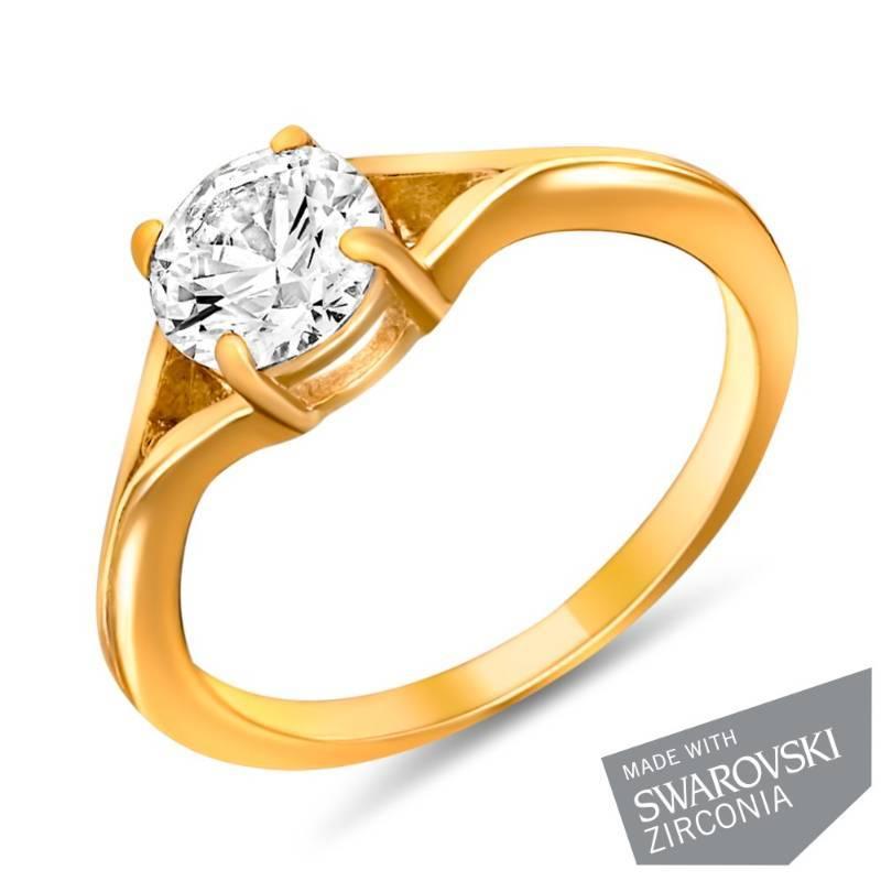 Buy Mahi Gold Plated Ecstatic Finger Ring Online