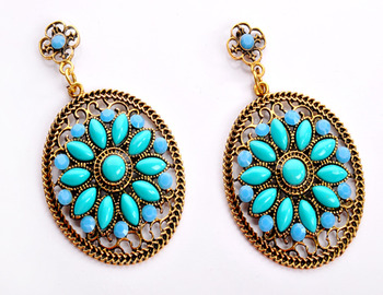 Fashionable Sky Blue Earring