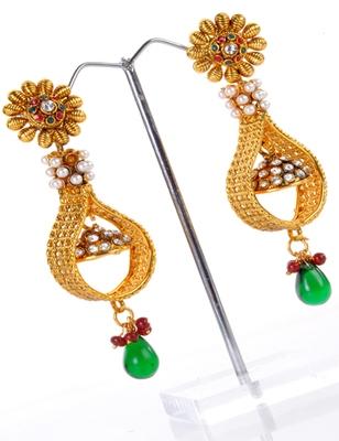 Copper Based Multicolour Earring