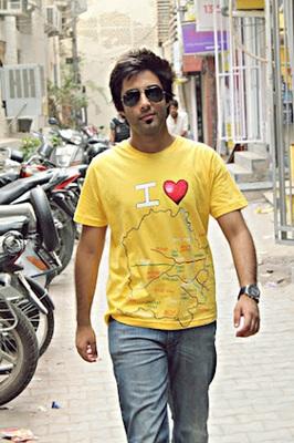 I LOVE DELHI - T-SHIRT