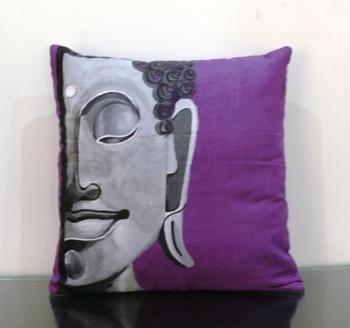 Eternal Buddha Cushion Cover