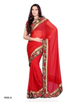Sakshi Tanvar Designer Saree made from Pure Chiffon