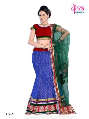 Kareena Kapoor Style Bollywood Designer Lehenga (3 Piece) made from multy fabric