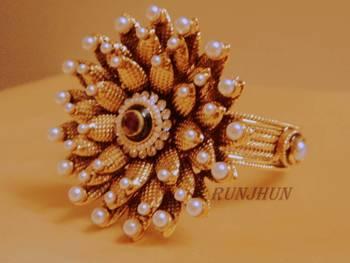 flower bracelet polki