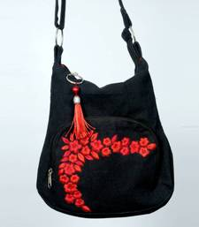 Buy Black Small sling tote-bag online