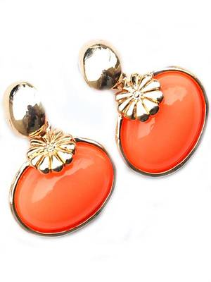 Smart Orange Style Studs