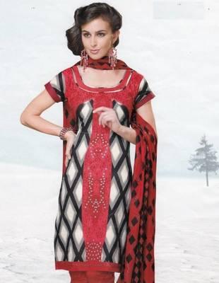 Dress material cotton designer prints unstitched salwar kameez suit d.no var7027
