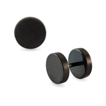 e36545cd8 Round Black Single Stud Earring for Men - SARAH - 616939