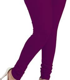 Buy purple leggings( pack of 1) plus-size-legging online