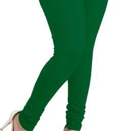 Buy bottle green leggings( pack of 1) plus-size-legging online