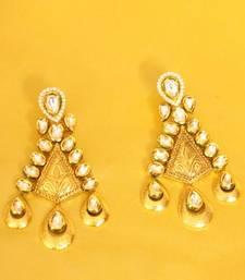 Kundan Meenakari Antique Look Earrings